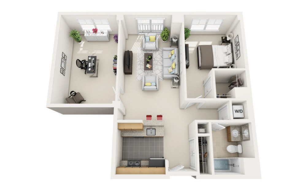 Woodland Station Beaconsfield Floorplan