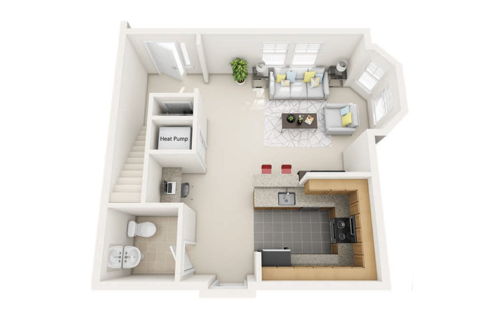 Woodland Station The Boylston Floorplan